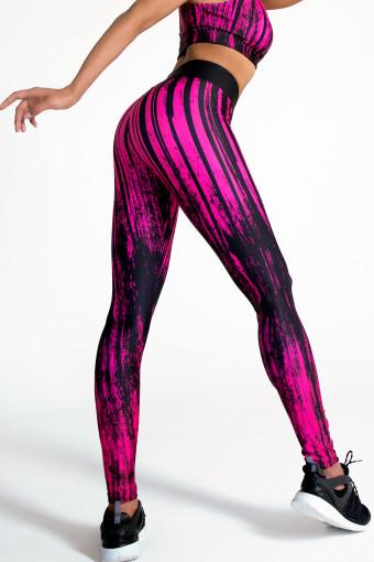 Лосины Vergo Basic Pink Grunge
