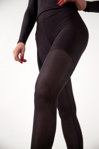 Лосины Vergo Pin-Up Black Grid