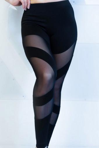 Лосины Vergo Ribbons Black