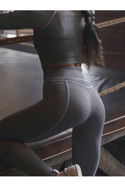 Леггинсы Vergo Skinny Steel Gray