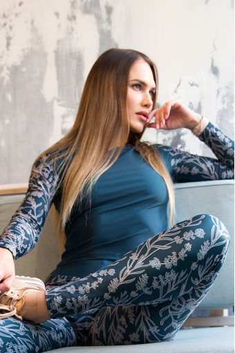 Рашгард Vergo Lavender Emerald