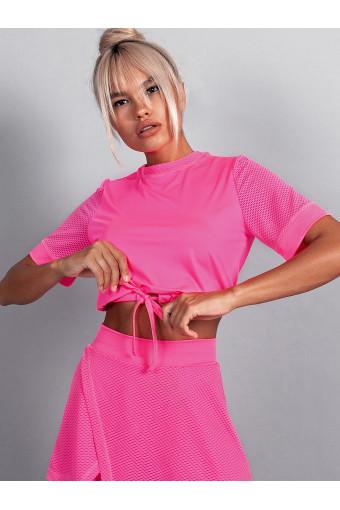 Топ Vergo Beverly Neon Pink